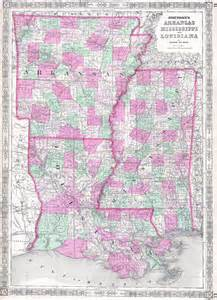 file 1864 johnson map of louisiana mississippi and