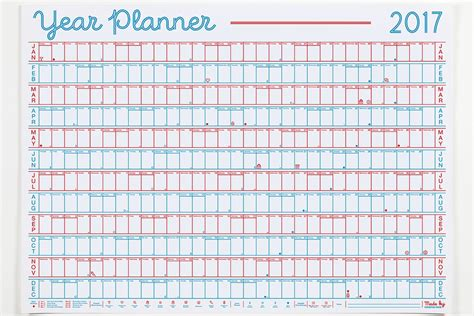 printable 2016 wall planner uk the best designer wall planners for 2017 awemous