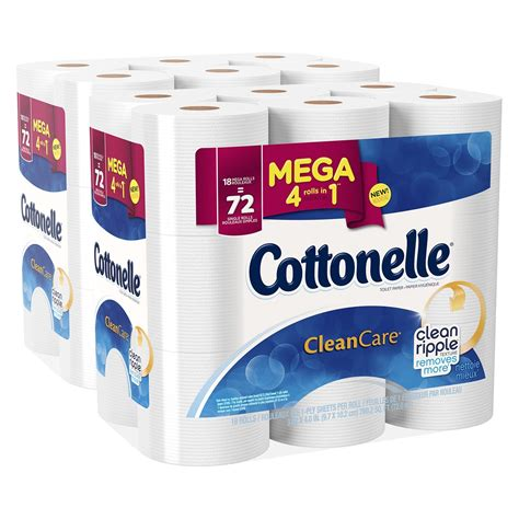 cottonelle clean care bath tissue      regular roll shipped