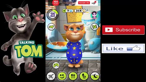 my talking tom bathroom my talking tom 1 we played games bought galactic