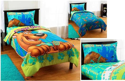 kids boys scooby doo bed in a bag comforter set ebay