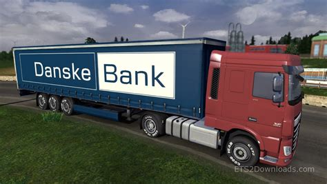 bank trailer danske bank trailer truck simulator 2 mods