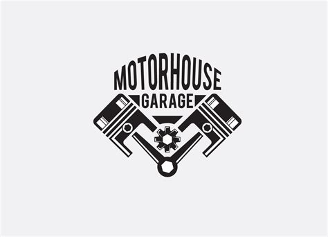 design a garage logo upmarket bold logo design for morrie huckel by hih7