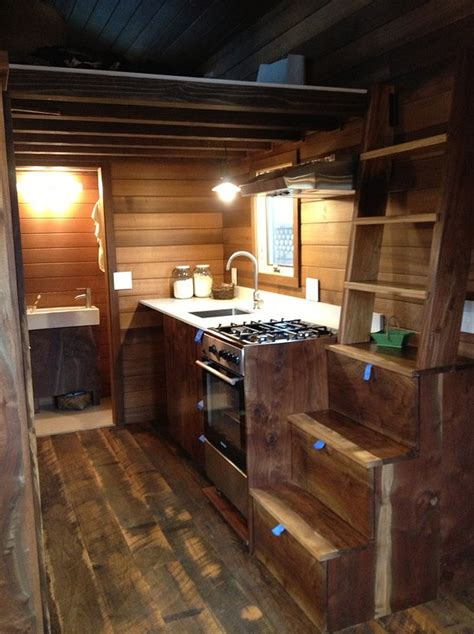 tiny house bnb the 224 sq ft cider box tiny house by shelterwise