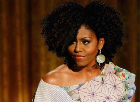 michelle obama hair weave is america ready for a natural 1st lady