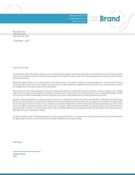 template indesign letter letter template indesign recommendation letter template