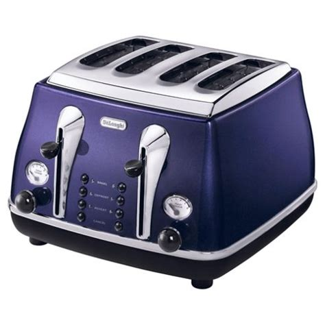Range Toasters Buy De Longhi Cto4003 Icona 4 Slice Toaster From Our