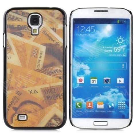 3d Plastic For Smartphone Samsung Galaxy S4 41 3d style protective plastic back for samsung galaxy s4 i9500 golden black free