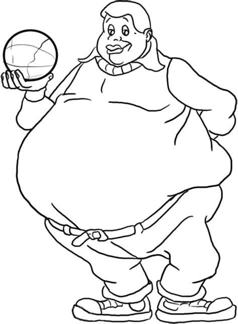 fat albert coloring pages fat albert coloring page free
