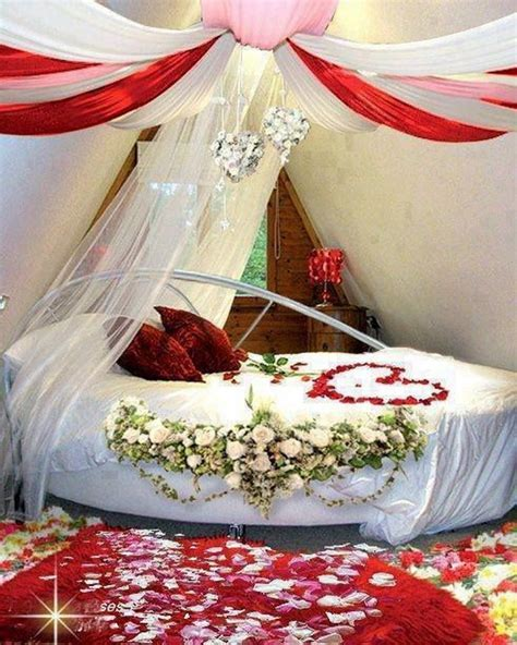Valentine?s Day Bedroom Decoration Ideas for Your Perfect