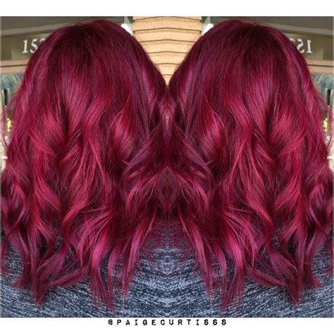 the 25 best raspberry hair color ideas on