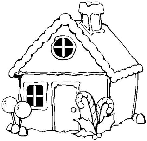 printable coloring pages gingerbread house gingerbread house