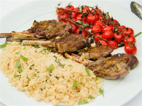 ina garten lamb moroccan grilled lamb chops recipe ina garten food network