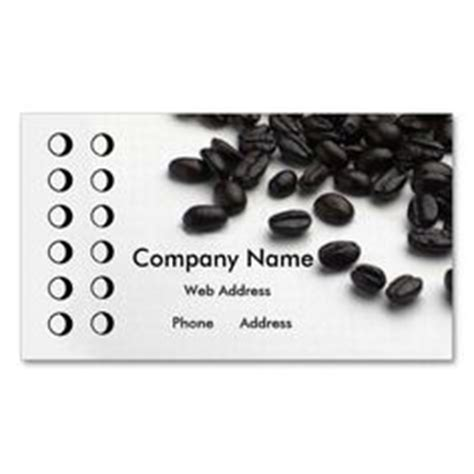 punch card template for bakery 1000 images about coffee shop business cards on