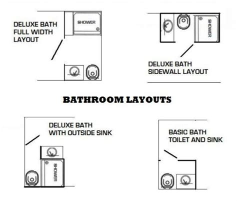 Jack And Jill Bathroom Floor Plans deluxe bath with toilet sink shower and hot water heater