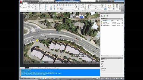google solidworks tutorial autocad tutorial insert georeference google earth image
