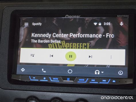 spotify android spotify s smooth is a great addition to android auto android central