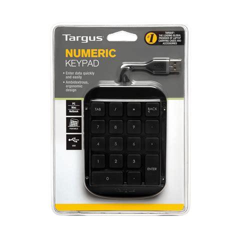 Numpad Usb targus numeric keypad