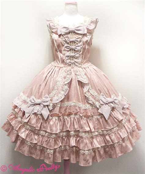 Jsk 1706 Hotpants Hw 5 Button angelic pretty garden princess jsk in pink jumperskirt lace market fashion sales
