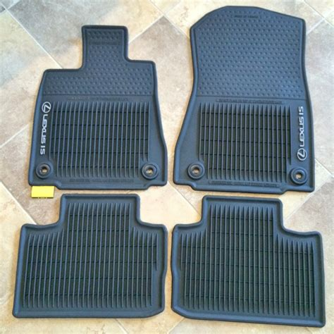 Lexus Is 250 Floor Mats 2014 lexus is 250 all weather floor mats automotive adventures