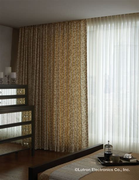 lutron curtains pin by lutron electronics on drapes pinterest