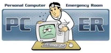 computer emergency room pc er personal computer emergency room trademark of intermedia 3 inc serial number 77825630
