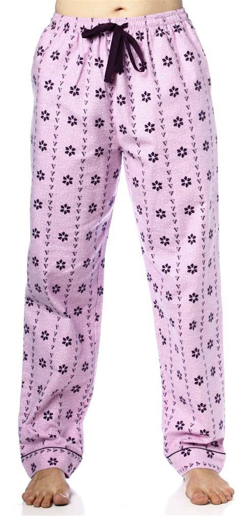 cute pattern pants noble mount womens premium 100 cotton flannel lounge