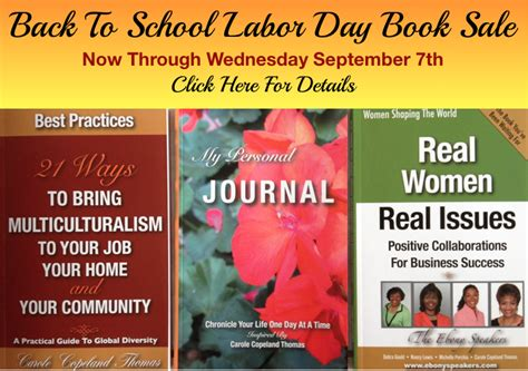 back in the day books back to school labor day book sale carole copeland