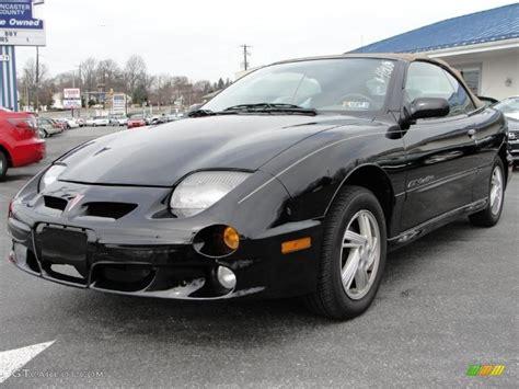 2000 Pontiac Gt by Black 2000 Pontiac Sunfire Gt Convertible Exterior Photo