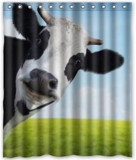 cow curtains free shipping cow curtain bath curtain high quality of
