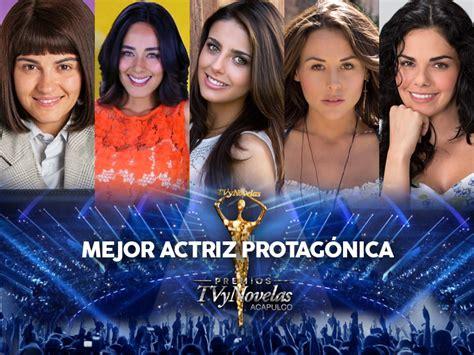 premios tv y novelas 2 016 premios tvynovelas 2016 ganadores mejor actriz