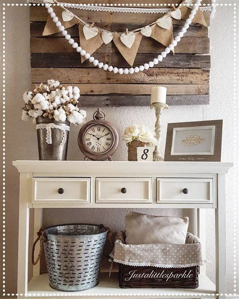 rustic farmhouse entry table entryway pallets olive rustic decor neutral