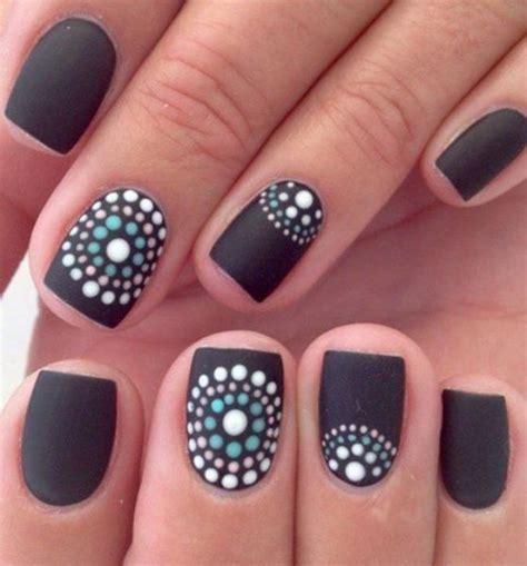 imágenes de uñas negras decoradas im 225 genes de u 241 as decoradas cortas con bonitos dise 241 os