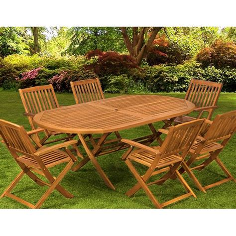 table et chaise de jardin en bois mobilier de jardin en bois pas cher mc immo