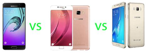 Hp Samsung A5 Vs J7 samsung galaxy c5 vs a5 vs j5 2016 specs comparison