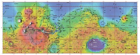 mars map water on mars so what nat geo education