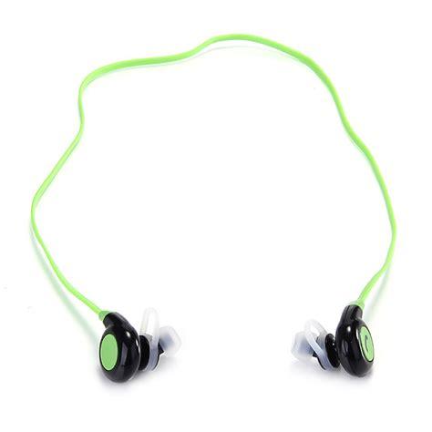 Sport Bluetooth Earphonemicrophone Bt 108 Green bt h108 bluetooth stereo headset bt4 1 headphone wireless