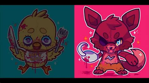 imagenes kawaii five nights at freddy s five nights at freddy s song kawaii youtube
