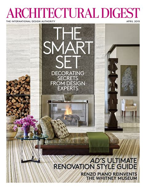 architectural designs magazine architectural digest