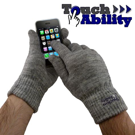 how to make capacitive gloves touchability announce touchscreen gloves that work with capacitive touch screen devices