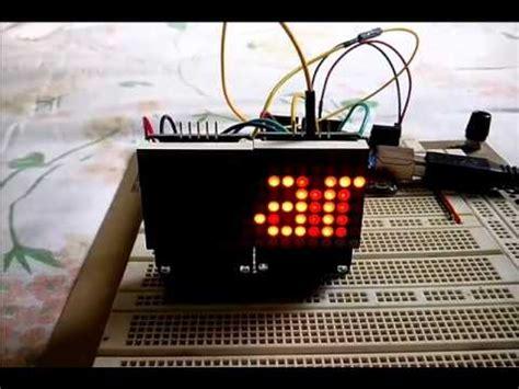Max7219 Led Dot Matrix 4 8x8 88 4 In 1 Fc 16 Fc16 icstation max7219 8x8 dot matrix module controlled by a