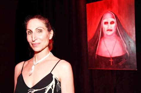 actor the nun actress who played unholy demon nun in conjuring 2 is