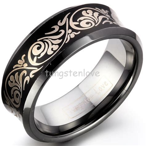 Alliance Single White Gold Platinum Wedding Rings 18K