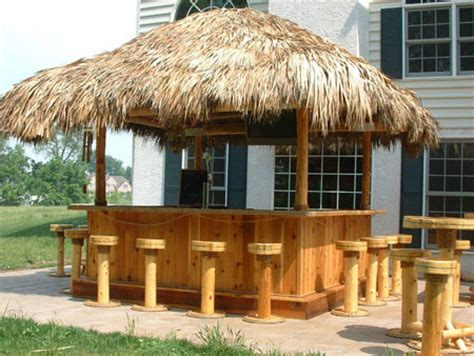 Tiki Hut Building Plans tiki bar photo gallery tikikev