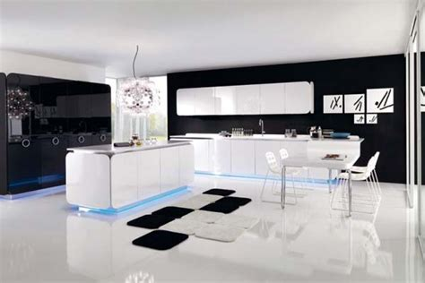 modern kitchen designs 2012 modern kitchen design idea with black and white themes
