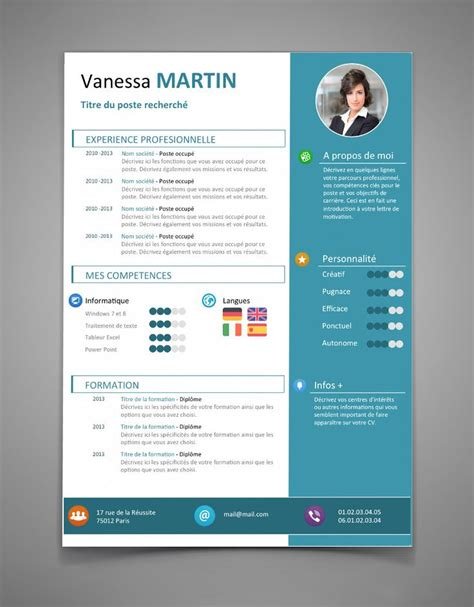 Cv Original by Exemple Cv Original Design Document