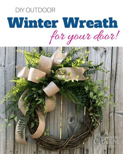 easy diy winter wreaths      christmas