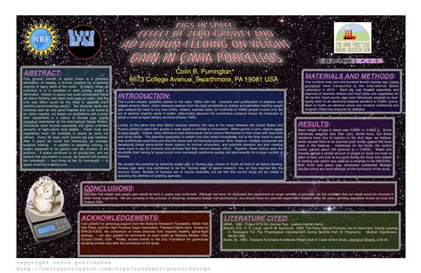 good templates for posters exle of bad conference poster colin purrington