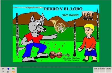 libro el cuento de pedrito pedro y el lobo recurso educativo 39603 tiching