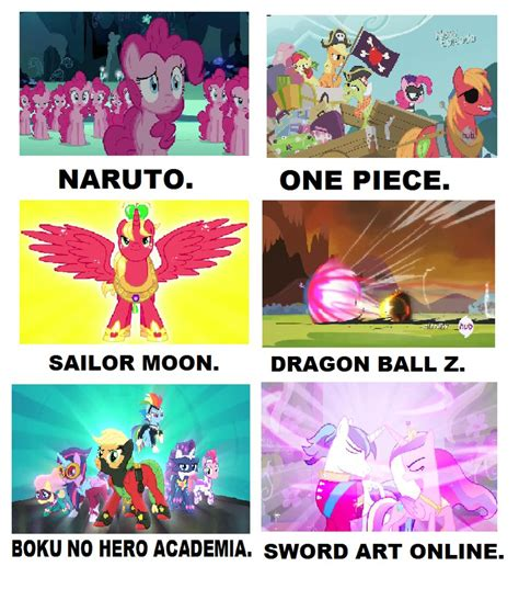 My Meme - my little pony anime meme by brandonale on deviantart